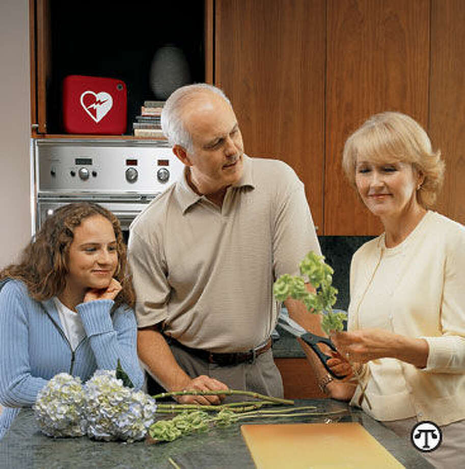 Having a defibrillator at home may save the life of a loved one. (NAPS)
