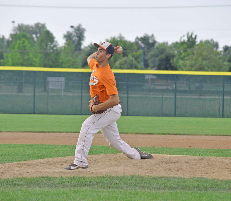 Aaron Jackson, who will be a senior at Edwardsville, is one of the top pitchers for the EHS summer baseball team.
