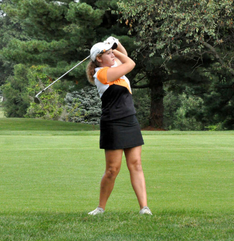 Emilee Flaugher capped her EHS career with a phenomenal senior season on the girls' golf team.