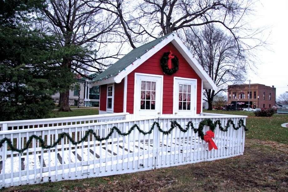 Santa's House at City Park