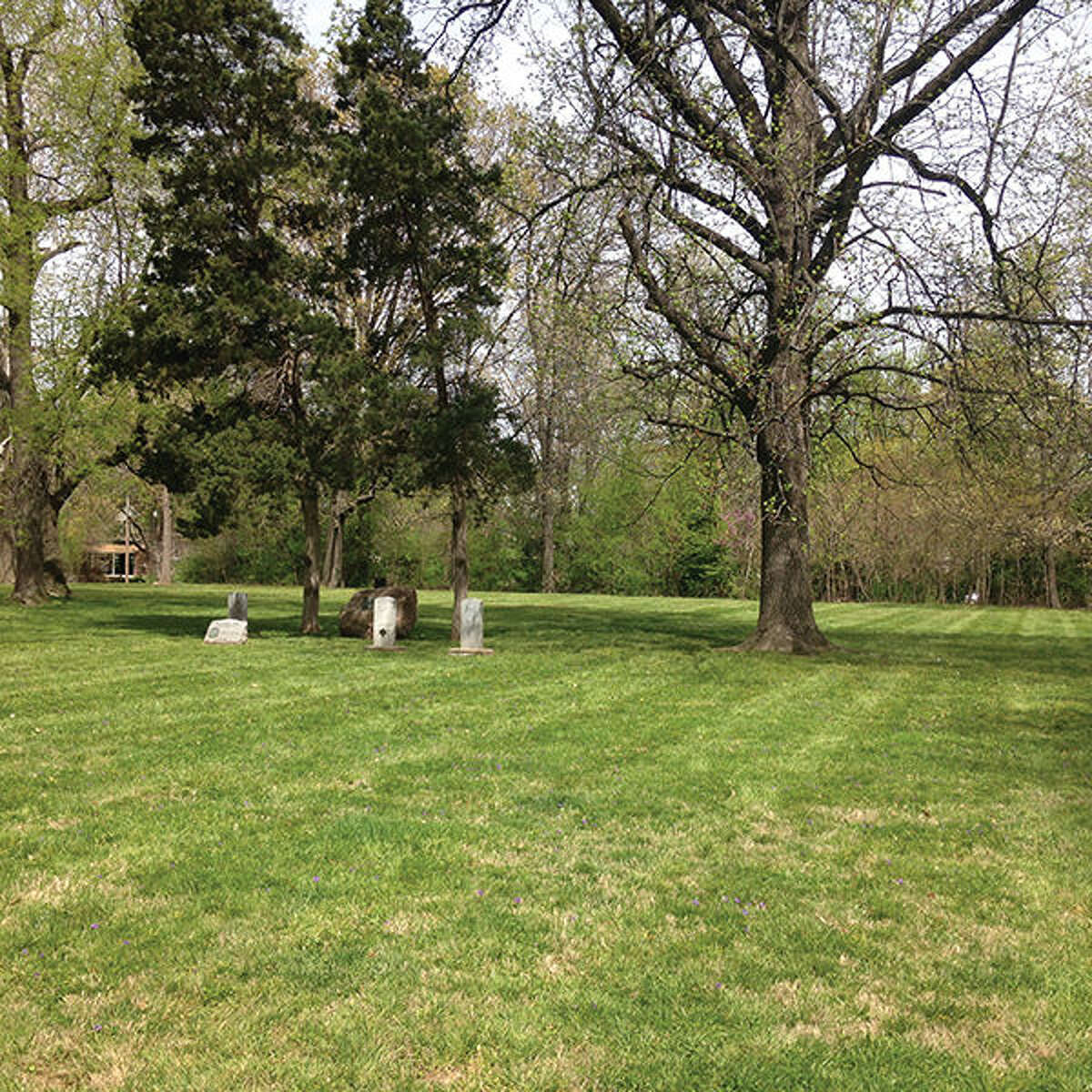 Lusk Park, also known as Lusk Family Cemetery, is being discussed as a possible site to move the Ninian Edwards statue.