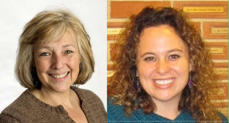 Connie Methner, left, and Jeanette Snyder are facing off in the race for the District 1 ounty commission seat.