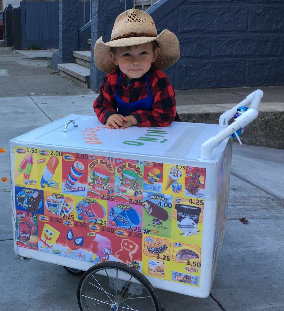 MISSION ICE CREAM MAN: Some excellent execution here. Judy and Murray Haworth write:
