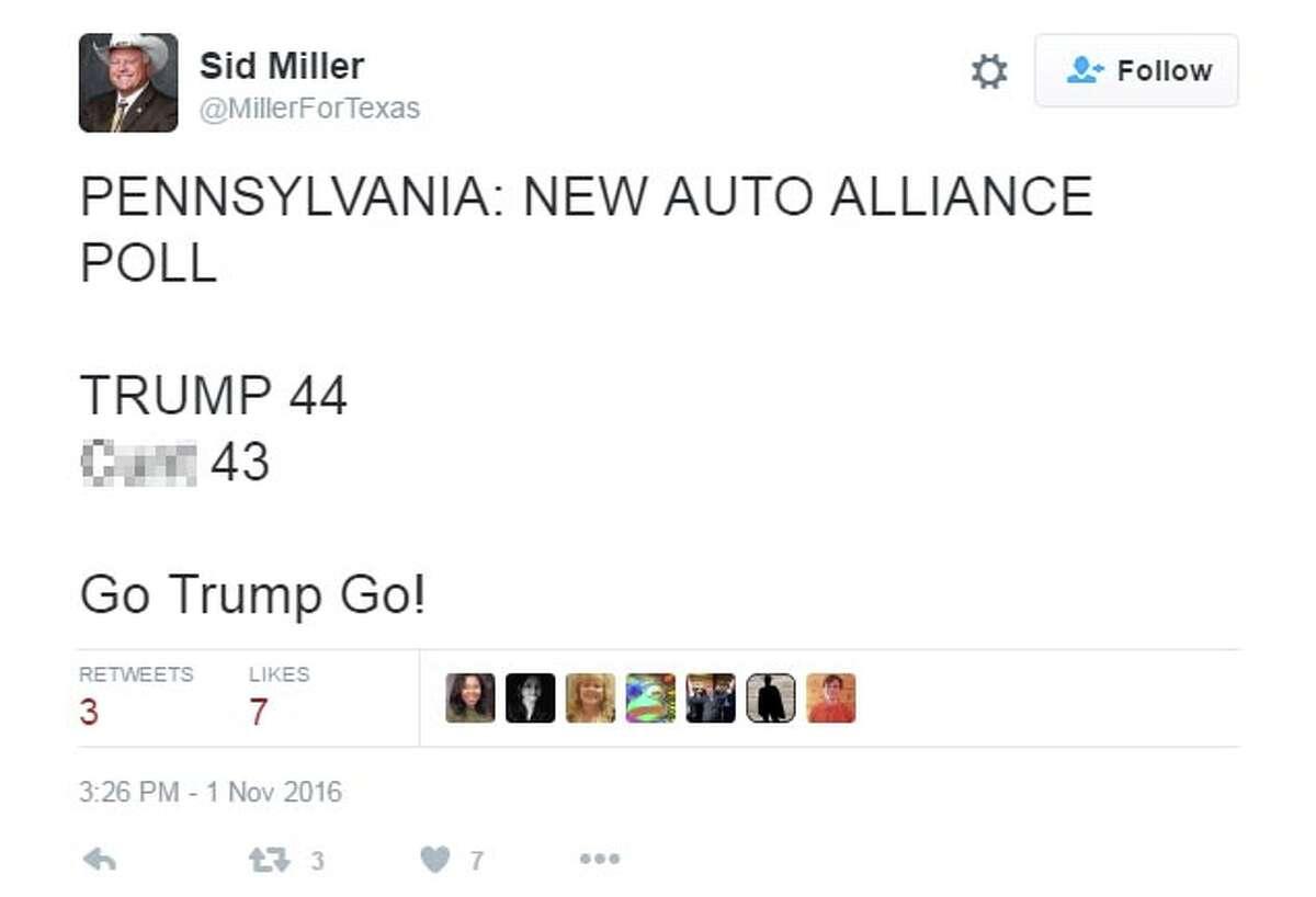 Via @MillerForTexas: PENNSYLVANIA: NEW AUTO ALLIANCE POLL TRUMP 44 Cunt 43 Go Trump Go!