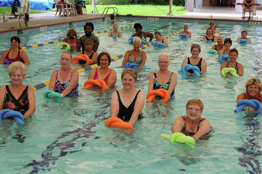 Each month the Aquatic Center hosts a free Saturday exercise class. Sample Water Walking, Water Aerobics, Deep Water Jogging, or Boot Camp H2O and find your favorite. For more information about water exercise or the Free Fitness Sampler schedule please call 936-522-3930. The November date is Nov. 12.