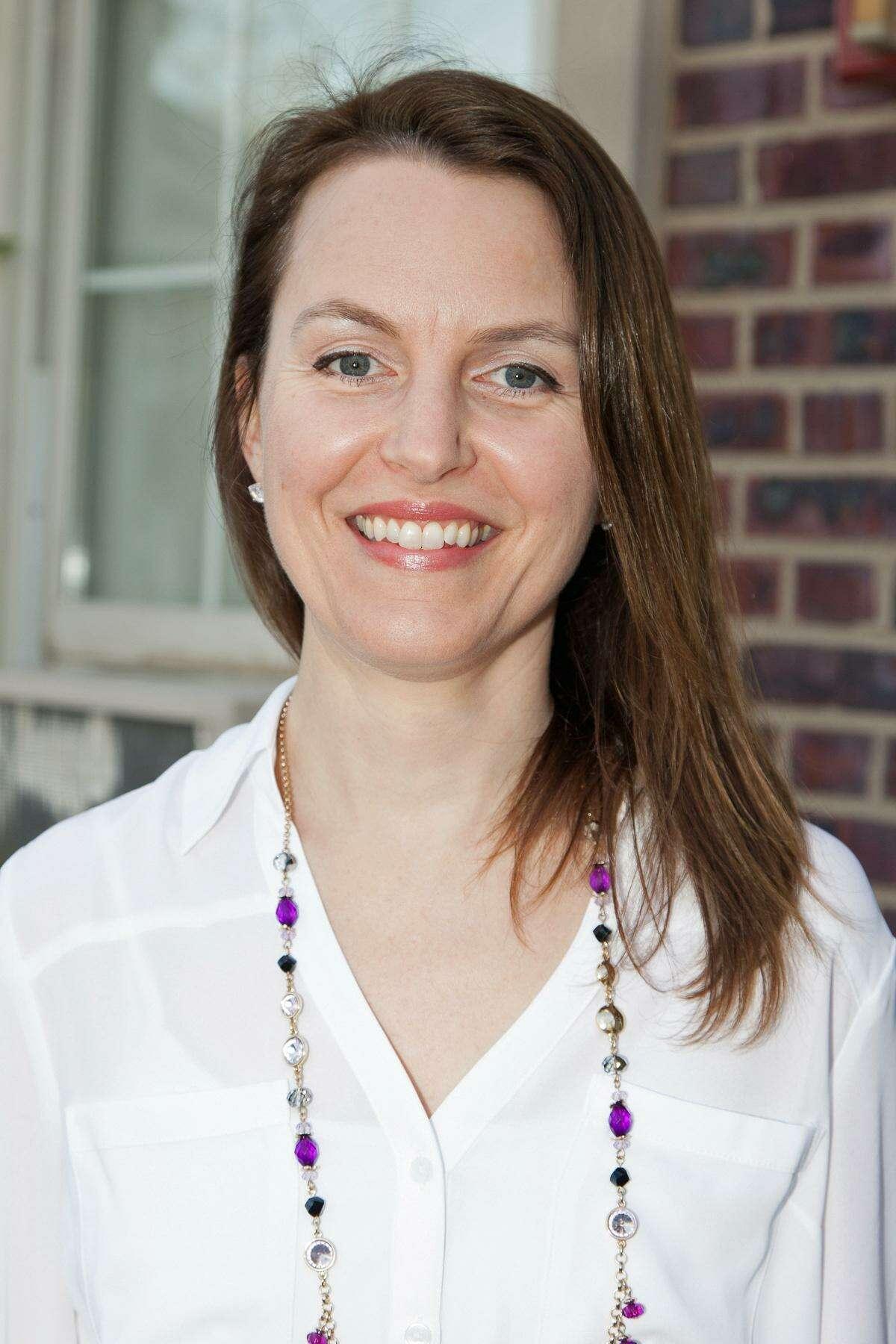 GHS science teacher Sarah Goldin