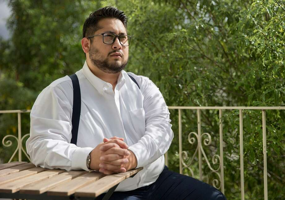 Ahmad Rafah was born in a refugee camp and granted asylum in the U.S. with his family in 1990. He is running for Santa Clara City Council, possibly the first Afghan American to seek office  in the U.S. Photo: Santiago Mejia, The Chronicle