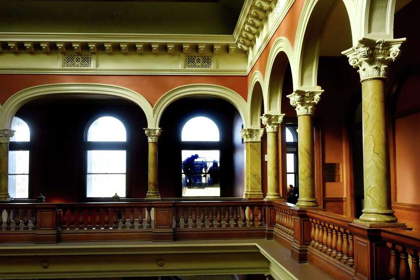 Rensselaer County Court House in Troy, N.Y., where the lawsuit was filed. (Cindy Schultz / Times Union)