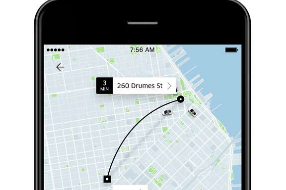 Uber redesigned its app to ask for passengers destinations first thing, and to show estimated price and arrival time even before they request a ride.