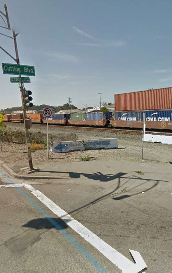 A woman was killed Tuesday afternoon when she walked onto the tracks at Cutting and Carlson boulevards in Richmond and was struck by an Amtrak train headed to Sacramento, officials said.