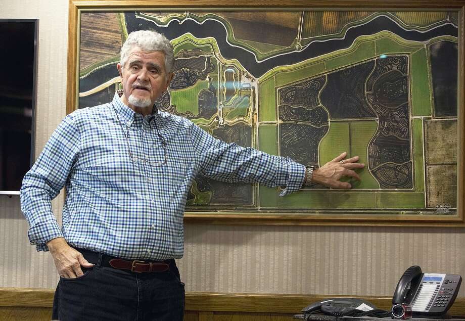 Stockton farmer and businessman Dino Cortopassi is funding Prop. 53, which requires voter approval for megaprojects. Photo: Rich Pedroncelli, Associated Press