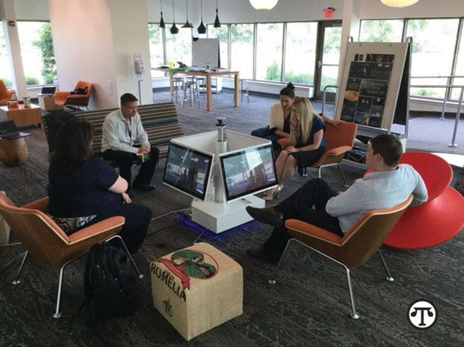 Mars Drinks employees refreshed, recharged, now more collaborative with Polycom® RealPresence Centro™. (NAPS)