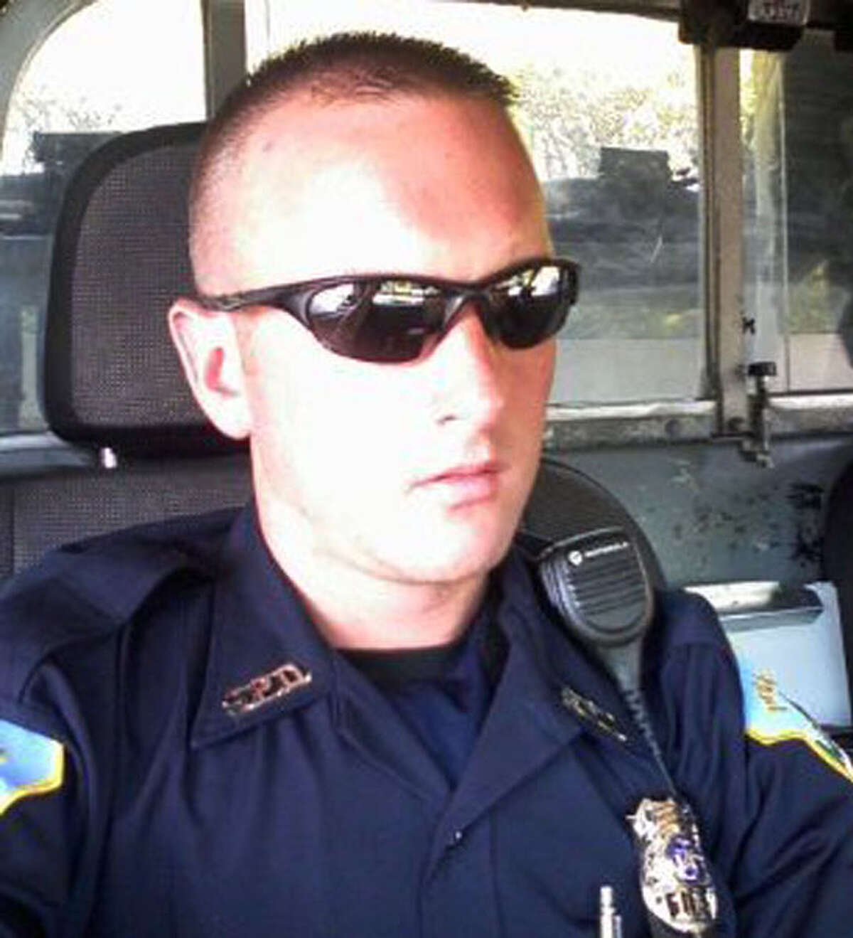 Schenectady Police Sgt. Jonathan Moore.