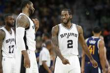 Two Spurs are All-Star worthy — Kawhi Leonard (2) and LaMarcus Aldridge.
