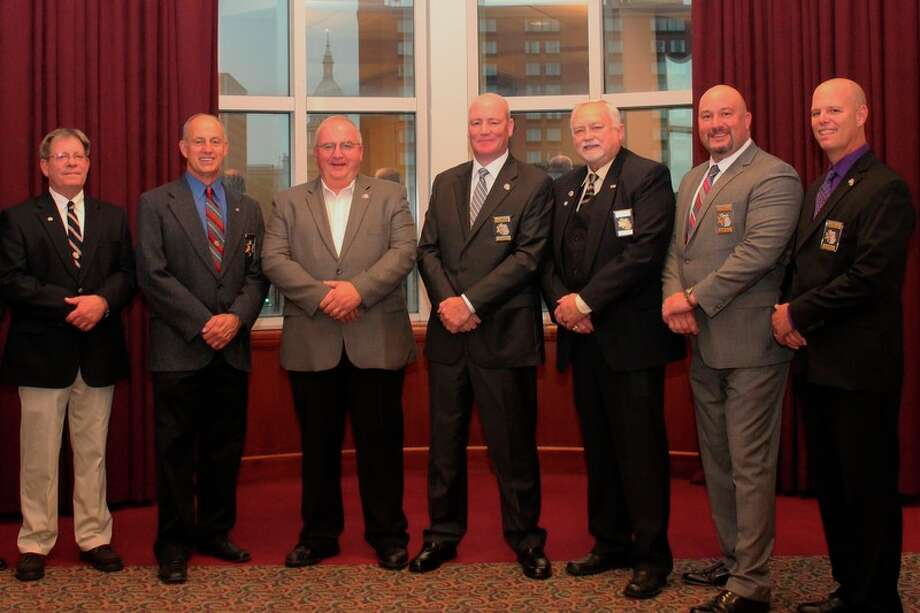THe Michigan Sheriff's Association 2017 Board of Directors  are Emmet County Sheriff Pete Wallin (secretary/treasurer), Sanilac County Sheriff Garry Biniecki (director), Berrien County Sheriff L. Paul Bailey (vice-president), St. Clair County Sheriff Tim Donnellon (president), Crawford County Sheriff Kirk Wakefield (past-president), Midland County Sheriff Scott Stephenson (director), and Iron County Sheriff Mark Valesano (director).