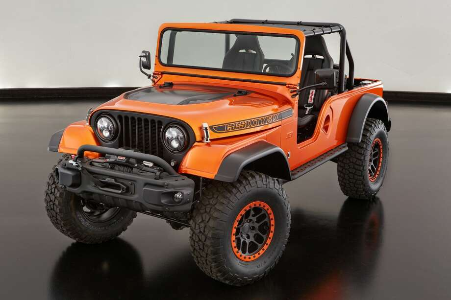 Jeep CJ66 concept Photo: FCA US LLC