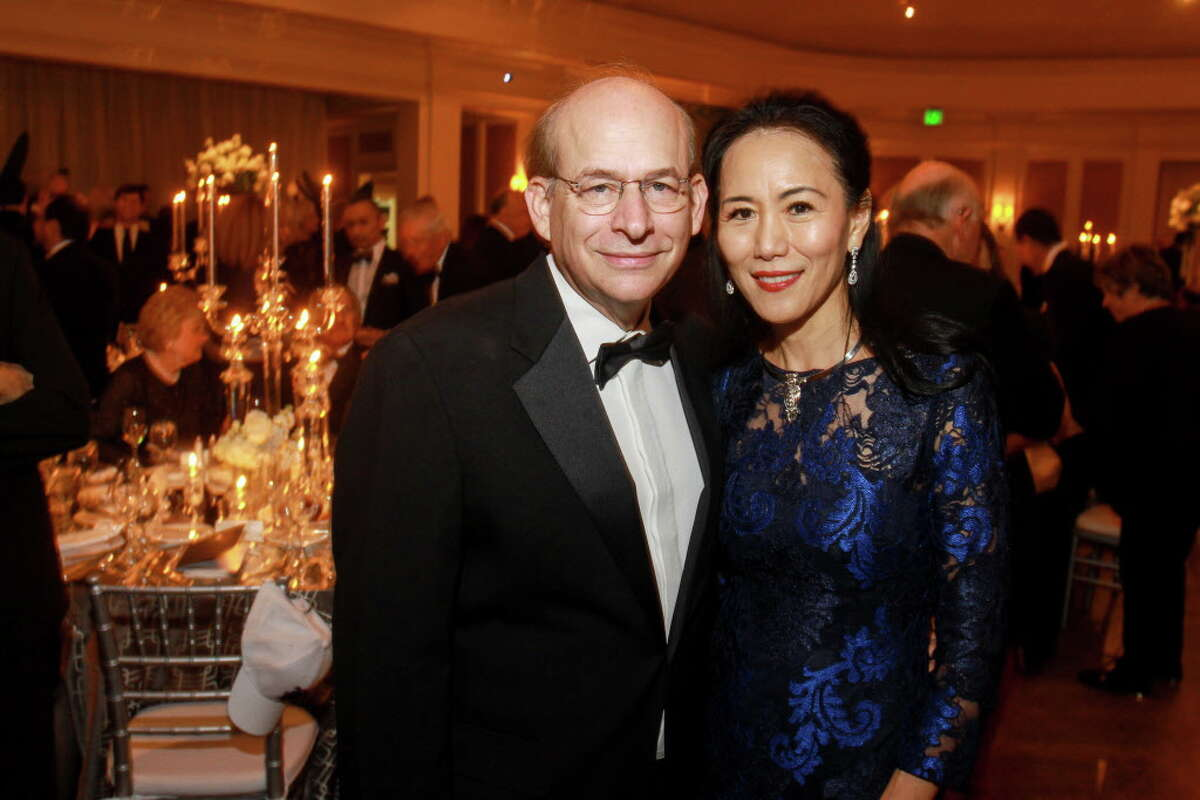David Leebron Rice University President David Leebron was named as the president of the prestigious Houston university with the goal of diversifying the student body at Rice. Here he is with his wife, Y. Ping Sun, who is an attorney.