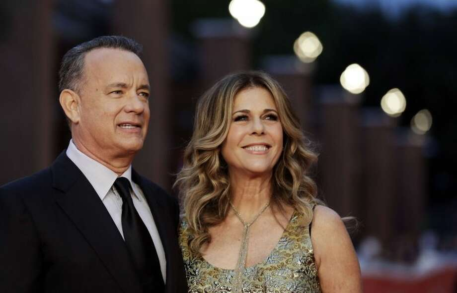 File photo of Tom Hanks and Rita Wilson. Hanks and Wilson have found a buyer for their side-by-side homes in Pacific Palisades, according to Variety.