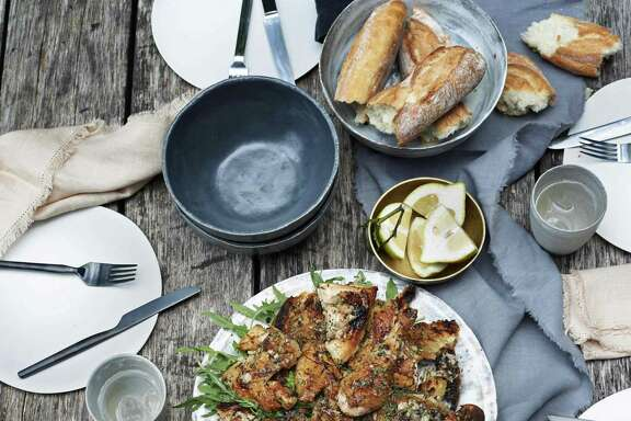 """Zuni Sheet Pan Chicken from Gwyneth Paltrow's latest cookbook, """"It's All Easy."""""""