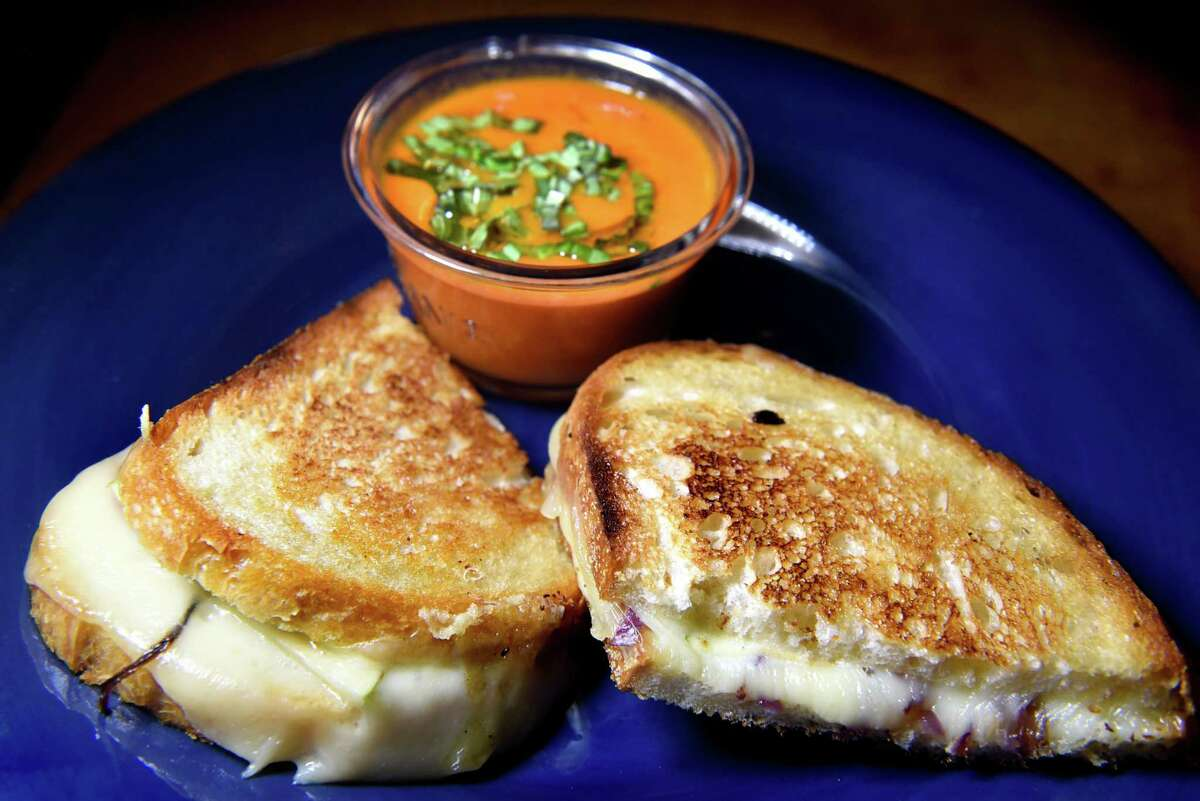 For National Grilled Cheese Day, you could whip up a sandwich with a side of soup at home, or try these Capital Region cheese specialties. Keep clicking for suggestions.