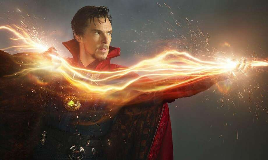 "Benedict Cumberbatch as Dr. Stephen Strange in a scene from the movie ""Docter Strange"" directed by Scott Derrickson. (Marvel Studios/TNS) Photo: Marvel Studios, TNS"