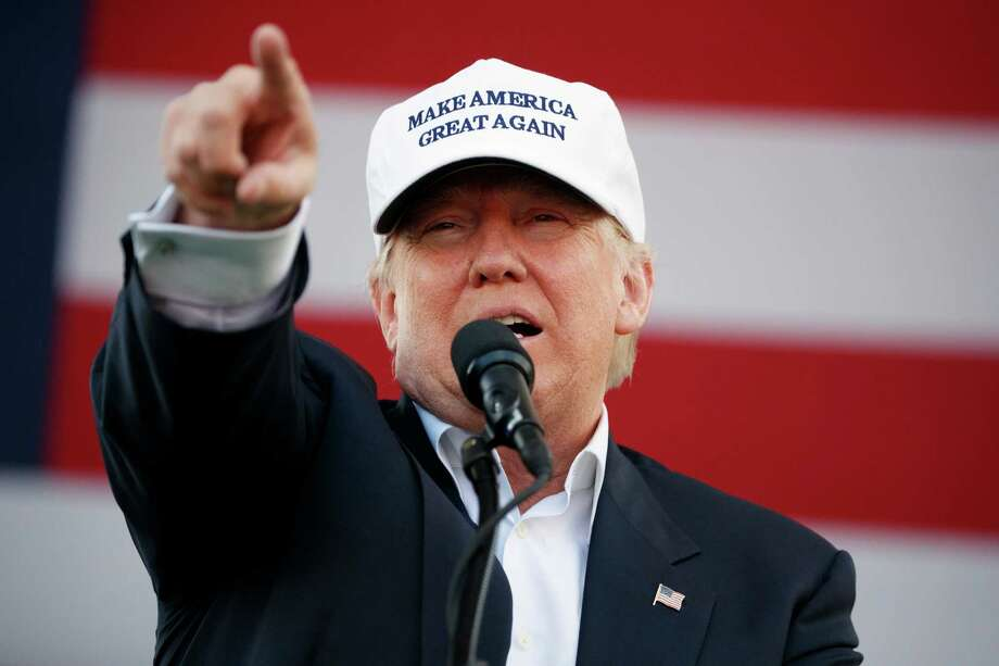 Republican presidential candidate Donald Trump speaks during a campaign rally, Wednesday, Nov. 2, 2016, in Miami. Photo: Evan Vucci, AP / Copyright 2016 The Associated Press. All rights reserved.