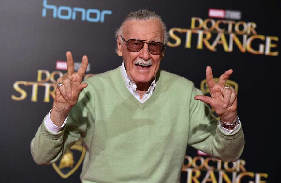 """Stan Lee arrives at the Los Angeles premiere of """"Doctor Strange"""" at the TCL Chinese Theatre Oct. 20, 2016. Photo: Jordan Strauss /Jordan Strauss / Invision / AP / Invision"""
