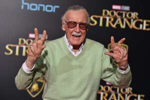 """Executive producer Stan Lee arrives at the Los Angeles premiere of """"Doctor Strange"""" at the TCL Chinese Theatre Oct. 20."""
