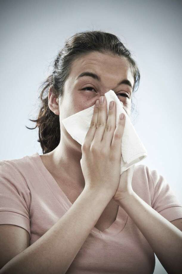 Get ready to sneeze more than usual and use lots of tissues as allergy season is already upon us, according to an expert from the Allergy Institute of San Antonio. Photo: Ugurhan Betin /Getty Images /Vetta / Getty Images