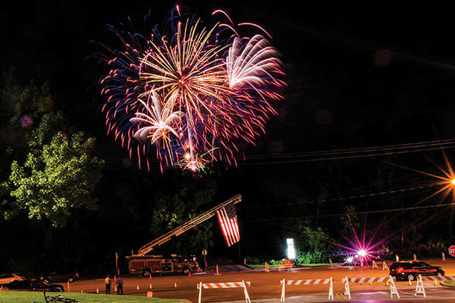 The American Legion's fireworks show.