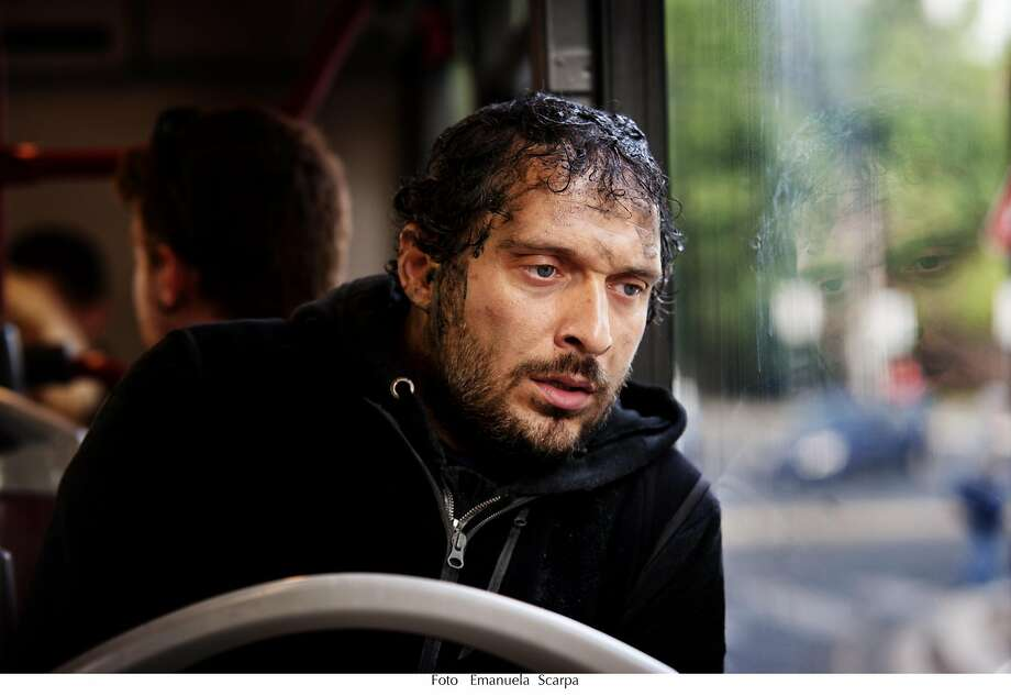 """In the Italian superhero film """"They Call Me Jeeg,"""" ex-convict Enzo (Claudio Santamaria) gains amazing powers after taking a dip in a toxic river.   Credit: New Italian Cinema Photo: New Italian Cinema"""