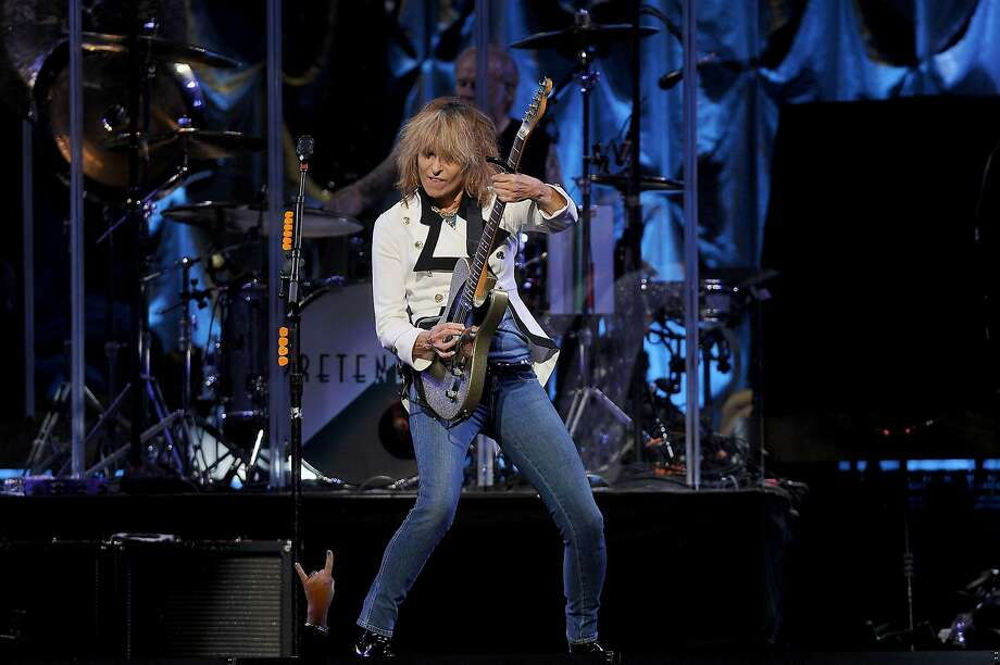 Chrissie Hynde and The Pretenders open for  Stevie Nicks at the Toyota Center Saturday Oct. 29,2016.(Dave Rossman photo) Photo: Dave Rossman / For The Chronicle