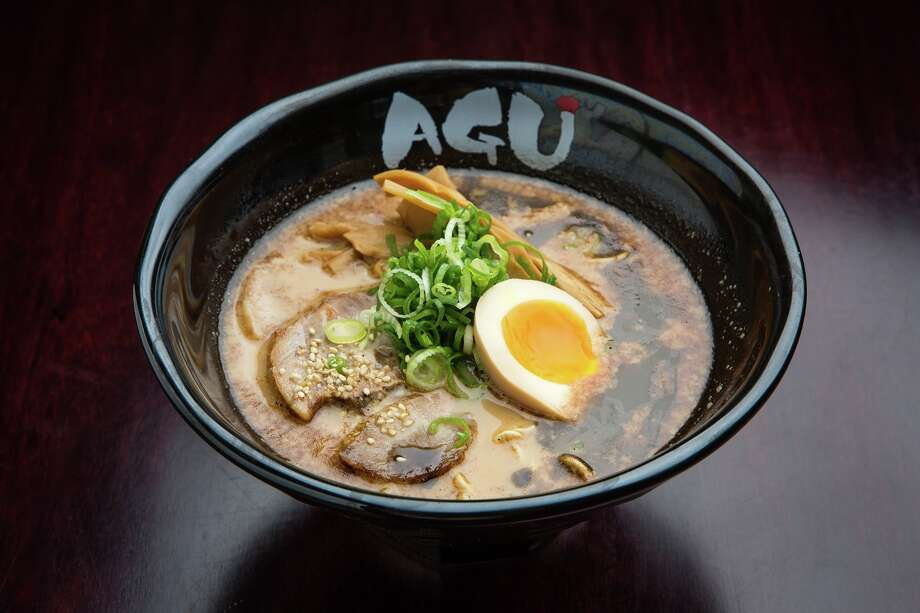 Agu Ramen, a Hawaii-based ramen restaurant concept, plans to open three stores in Houston in late 2016 and more in 2017. Shown: Shoyu ramen bowl. Photo: Agu Ramen