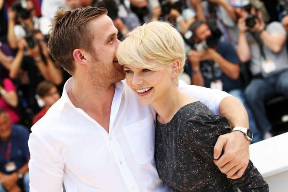 "CANNES, FRANCE - MAY 18:  Actors Ryan Gosling and Michelle Williams attend the ""Blue Valentine"" Photocall at the Palais des Festivals during the 63rd Annual Cannes Film Festival on May 18, 2010 in Cannes, France.  (Photo by Sean Gallup/Getty Images) *** Local Caption *** Ryan Gosling;Michelle Williams Photo: Sean Gallup, Getty Images / 2010 Getty Images"