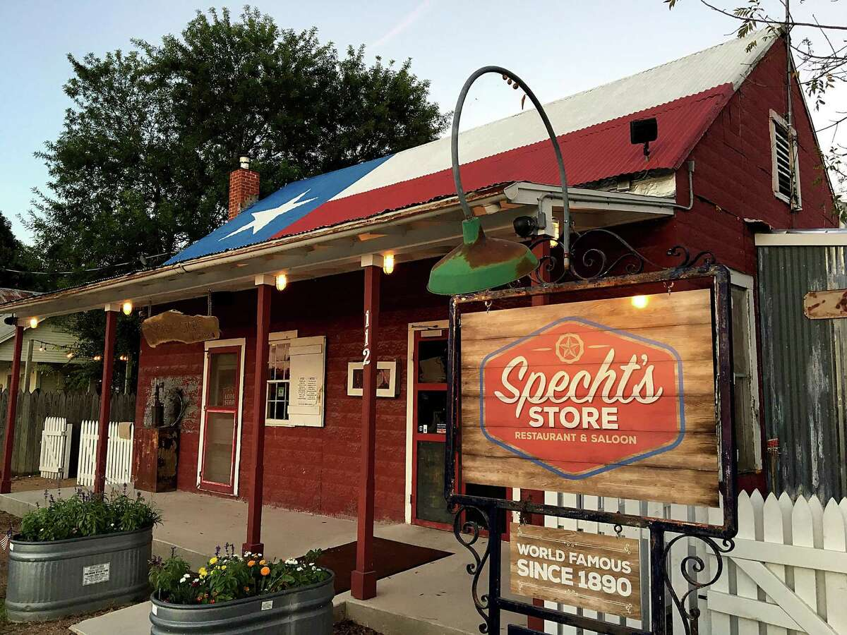 Specht's Store, a homestyle restaurant on Specht Road in north San Antonio, traces its history to 1890.