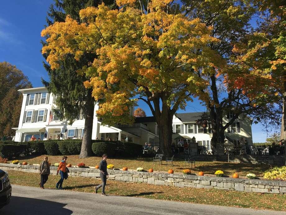 Hopkins Inn in Warren, Conn. on October 15, 2016. Photo: Lidia Ryan