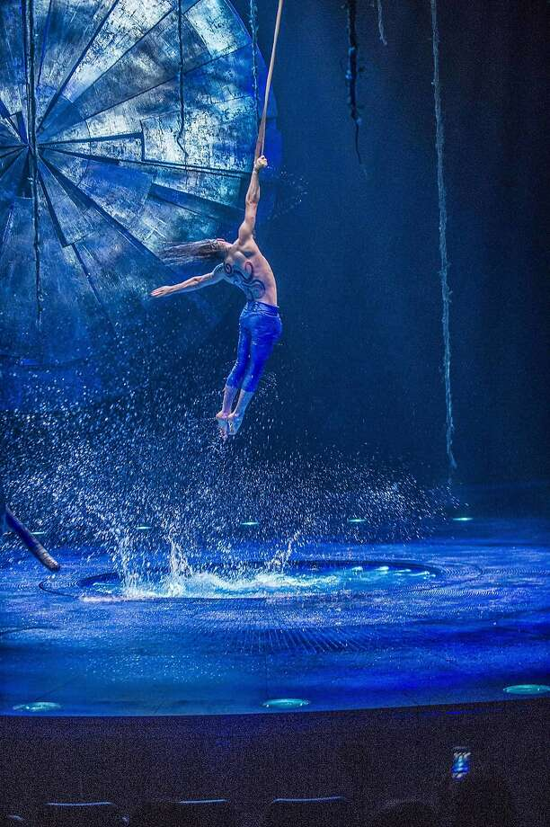 """Luzia,"" with its Mexican flavor, follows Cirque du Soleil shows with Brazilian and steampunk themes. Photo: Luarence Labat"