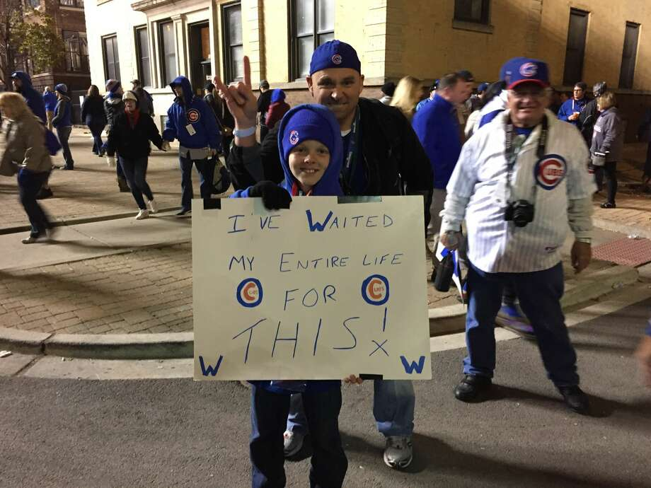 Chicago, during the 2016 World Series. Photo: S.L. Wisenberg
