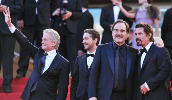 "CANNES, FRANCE - MAY 14: (L-R) Michael Douglas, Shia LaBeouf, director Oliver Stone and Josh Brolin attend the ""Wall Street: Money Never Sleeps"" Premiere at the Palais des Festivals during the 63rd Annual Cannes Film Festival on May 14, 2010 in Cannes, France.  (Photo by Pascal Le Segretain/Getty Images) *** Local Caption *** Michael Douglas;Josh Brolin;Shia LaBeouf;Oliver Stone Photo: Pascal Le Segretain, Getty Images / 2010 Getty Images"