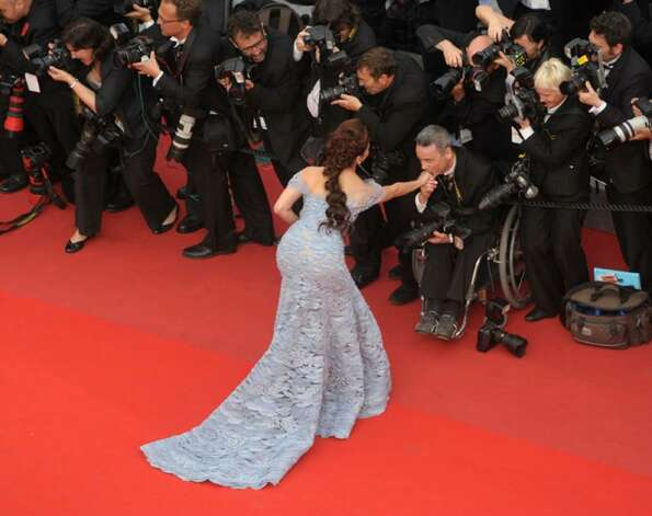 CANNES, FRANCE - MAY 12: Aishwarya Rai Bachchan attends... 183253 ...