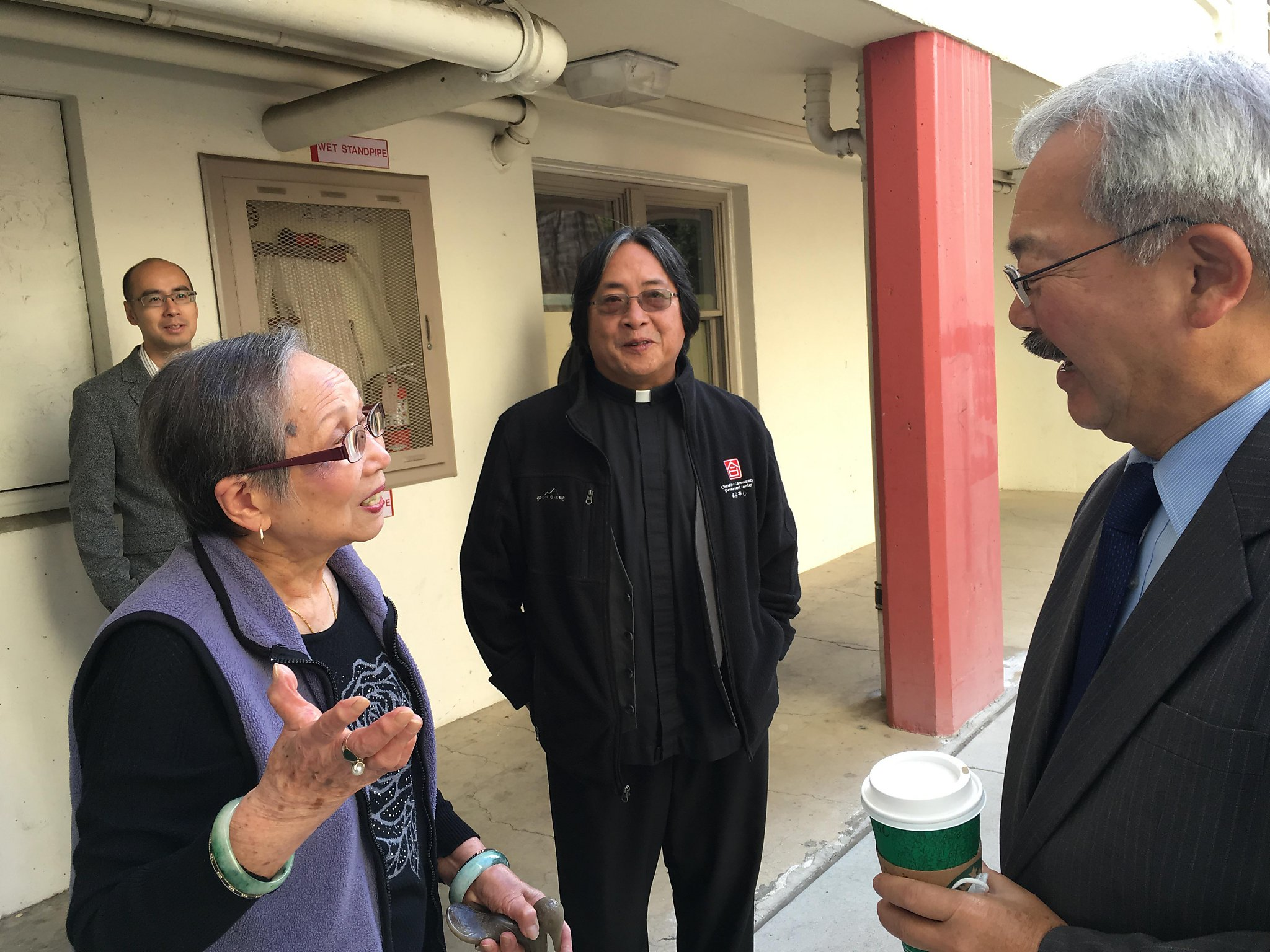 Need for decent public housing hits home with Mayor Lee