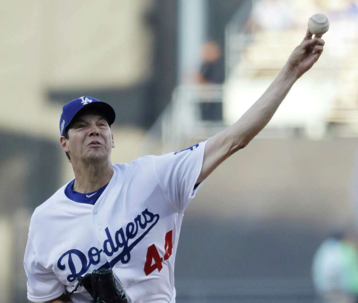 Rich Hill will start for the Dodgers in Game 2 of the World Series.
