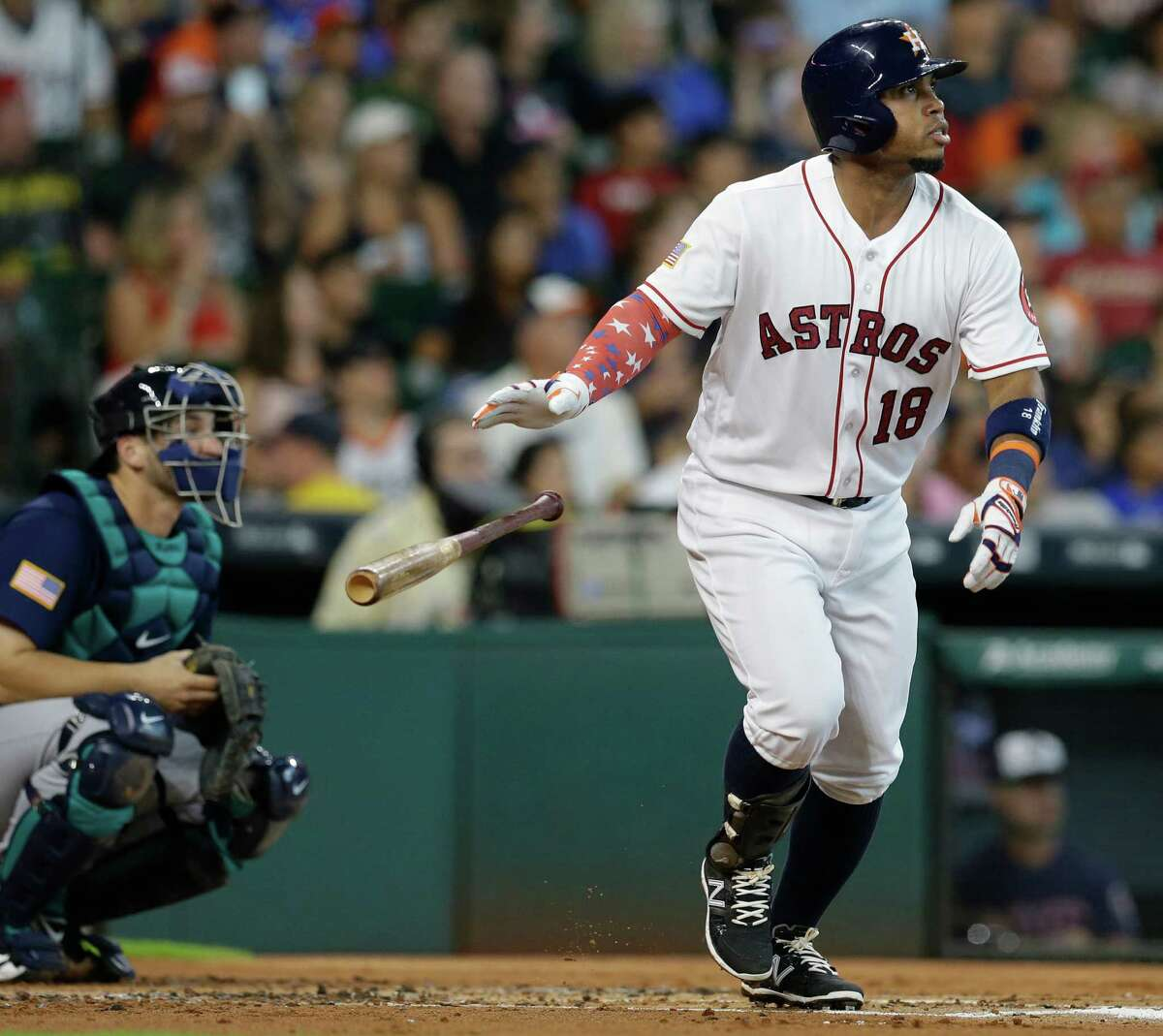 Luis Valbuena is another Astros free agent.