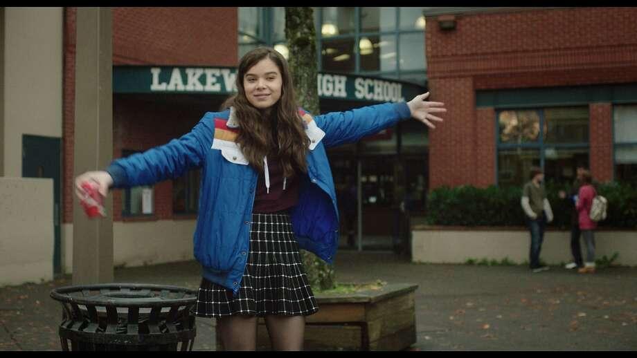 "Hailee Steinfeld in ""The Edge of Seventeen."" Photo: STX Entertainment"