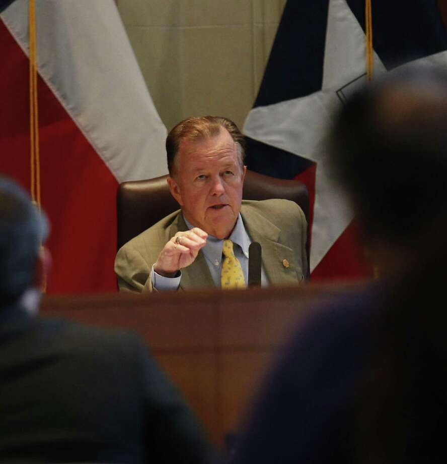 Councilman Joe Krier will seek to rescind a contract that the city signed in September with a utility repair company that allowed it to use the city's logo to solicit residents for water and sewer line warranties.  (Kin Man Hui/San Antonio Express-News) Photo: Kin Man Hui, Staff / San Antonio Express-News / ©2016 San Antonio Express-News