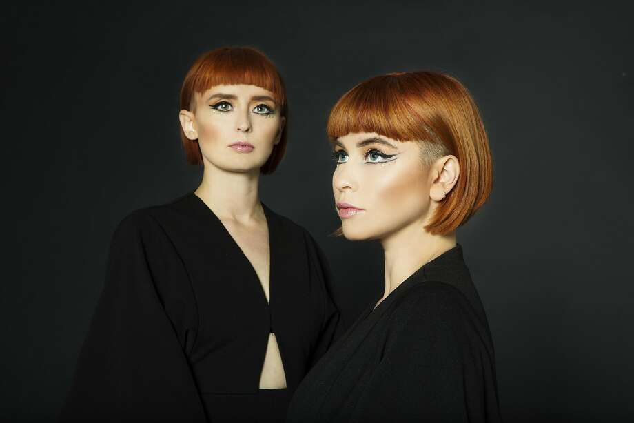Lucius, which consists of vocalists Holly Laessig and Jess Wolfe, will be at the Fillmore in S.F. Photo: Piper Ferguson