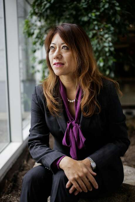Board of Equlization member Fiona Ma sits for a portrait in Oakland. Photo: Gabrielle Lurie, The Chronicle