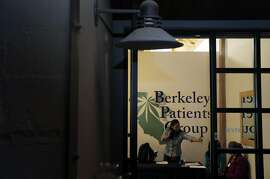Members of the Berkeley Patients Group wait for guests before a networking event held by Women Grow in Berkeley, Calif., on Thursday, March 5, 2015. As the marijuana market booms and big money rolls in, there is a very vocal desire to make the nascent industry more diverse than, well, than any other industry. Women Grow is one such group seeking to grow the number of women in the weed business.