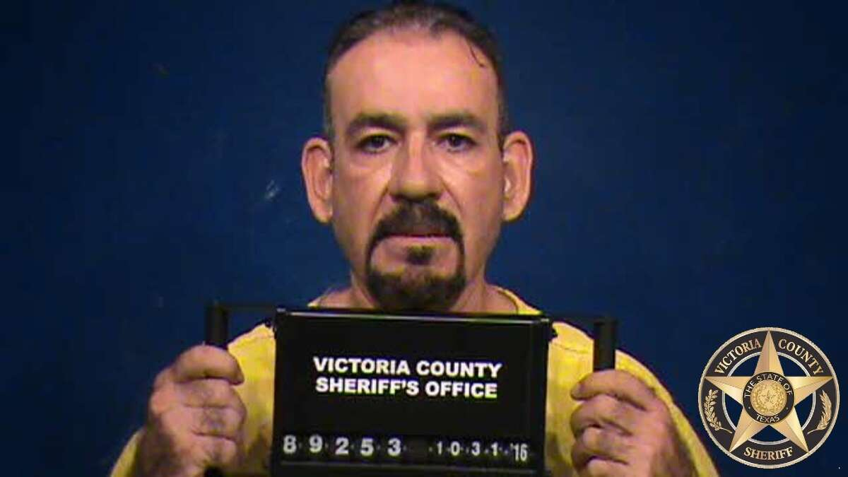 Rogelio Flores, 55, of Humble was arrested for traffic violations and transported to the Victoria County Jail.