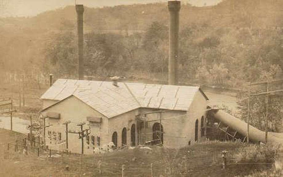 """Gunn Historical Museum in Washington will present a program, """"The Bulls Bridge to Waterbury Powerline in Washington,"""" Nov. 13 at 1 p.m. Stephan Jones and Zac Mirecki will present the free, illustrated program at Gunn Memorial Library on Wykeham Road. The Bulls Bridge hydroelectric power project, built on the Housatonic River in 1904, above, was the largest power project of its kind at the time east of the Rocky Mountains. Photo: Courtesy Of Gunn Historical Museum / The News-Times Contributed"""